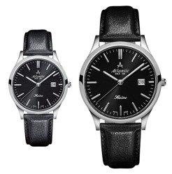Zegarki dla pary Atlantic SEALINE 22341.41.61 i 62341.41.61