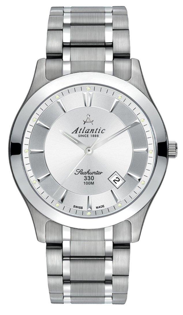 4aa5189382f0ea Zegarek Atlantic Seahunter 71365.11.21 Tytan Szafir WR 100 - sklep ...