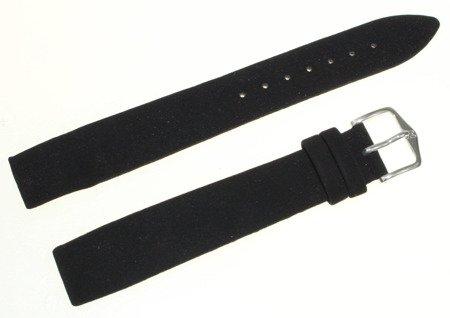 Aksamitny wodoodporny pasek do zegarka 18 mm HIRSCH Velvet 18809050-2-18OE