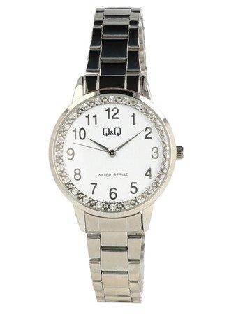 Biżuteryjny zegarek damski Q&Q QB09-204