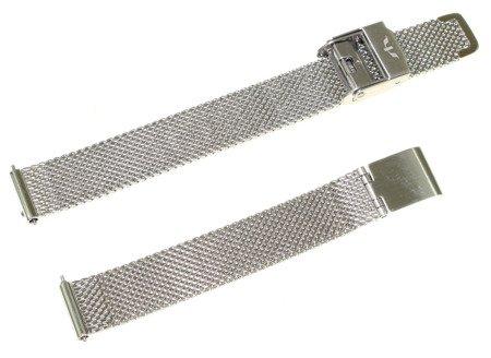 Bransoleta stalowa do zegarka 12 mm Bisset BM-101.12 Silver