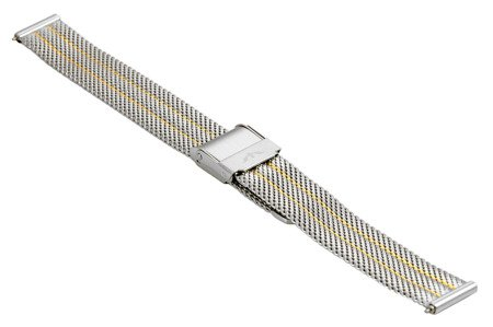 Bransoleta stalowa do zegarka 14 mm Bisset BM-103/14 TT Gold