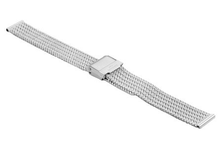 Bransoleta stalowa do zegarka 14 mm Bisset BM-108/14 Silver