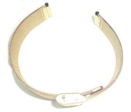 Bransoleta stalowa do zegarka 14 mm Tekla TB14.002.09 Mesh