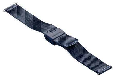 Bransoleta stalowa do zegarka 16 mm Bisset BM-103/16 Blue