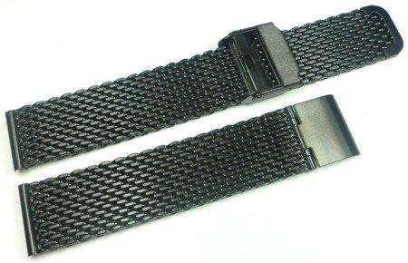 Bransoleta stalowa do zegarka 18 mm Tekla TB18.004.01 Mesh