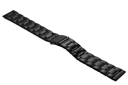 Bransoleta stalowa do zegarka 20 mm BR-119/20 Black