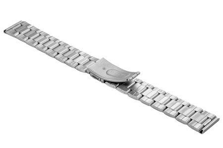 Bransoleta stalowa do zegarka 20 mm BR-119/20 Silver M