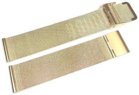 Bransoleta stalowa do zegarka 20 mm Tekla TB20.005.09 Mesh