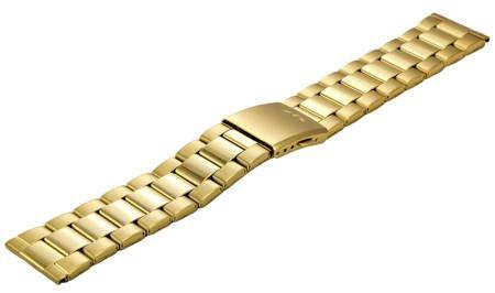 Bransoleta stalowa do zegarka 22 mm BR-112.22 Gold