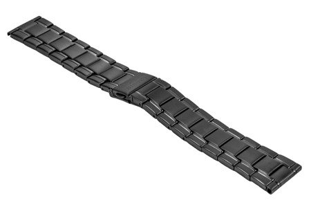Bransoleta stalowa do zegarka 22 mm BR-125/22 Black