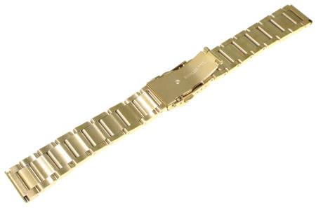 Bransoleta stalowa do zegarka 22 mm Tekla BL2.22
