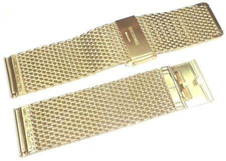 Bransoleta stalowa do zegarka 22 mm Tekla TB22.007.09 Mesh