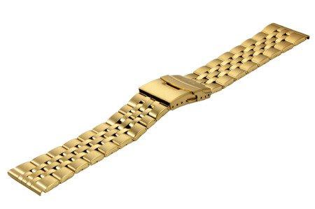 Bransoleta stalowa do zegarka 26 mm BR-123/26 Gold