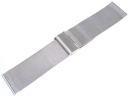 Bransoleta stalowa do zegarka 28 mm Tekla BC1.28 Silver