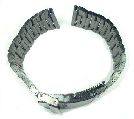 Bransoleta stalowa do zegarka Diloy 1119-22-BL 22 mm