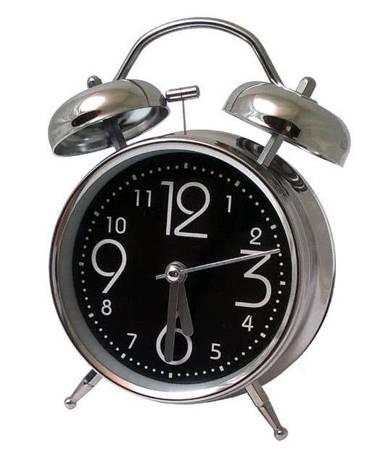 Budzik Atrix ATB045B Bell Alarm Retro