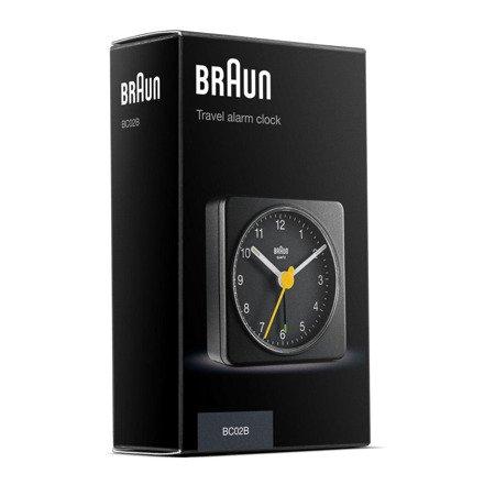 Budzik Braun BC02B Kostka