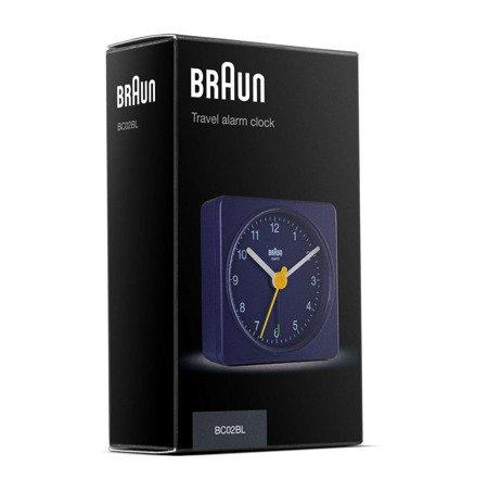 Budzik Braun BC02BL Kostka