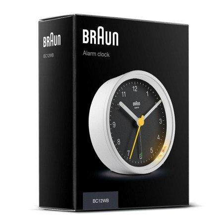 Budzik Braun BC12WB