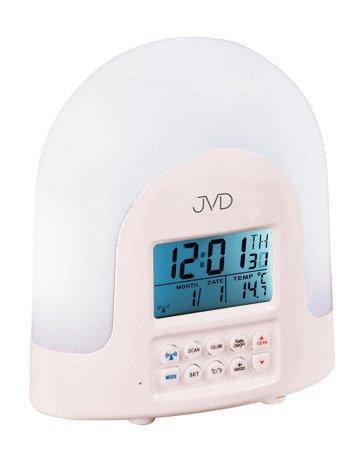 Budzik JVD RB298 Radio Lampka Termometr