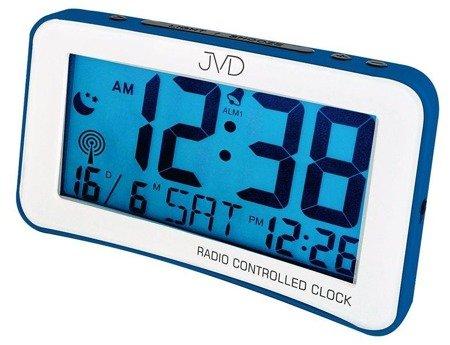 Budzik JVD RB860.2 Dwa alarmy, DCF77