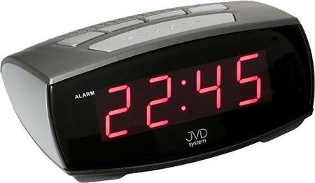 Budzik JVD SB0933.1 Sieciowy LED