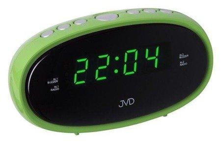 Budzik JVD SB95.2 Radio FM, 2 alarmy