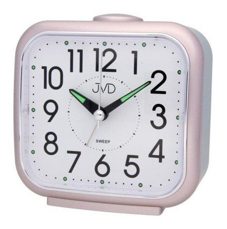 Budzik JVD SRP1309.3 Cichy mechanizm, Bell Alarm