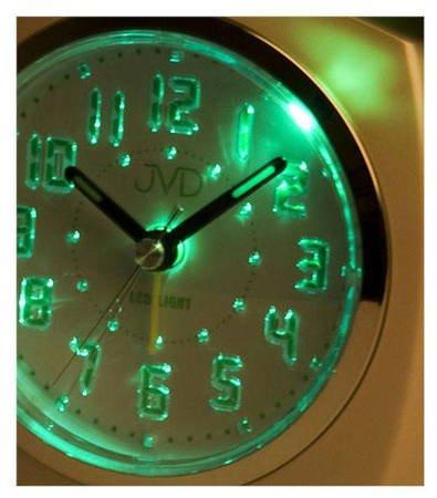 Budzik JVD SRP930.2 Led Light, Bell Alarm