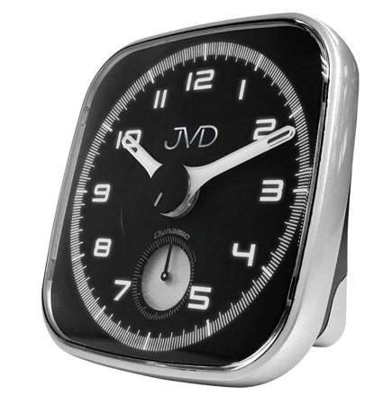 Budzik JVD SRPC09.2 z płynącym sekundnikiem