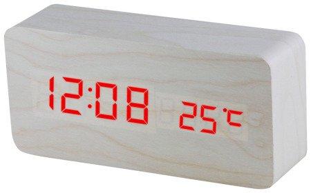 Budzik MPM C02.3564.00 termometr, 3 alarmy