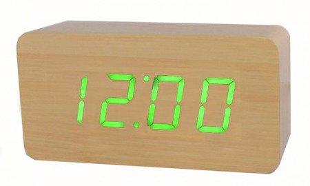 Budzik Xonix GHY-015YK L.BR GR termometr, 3 alarmy