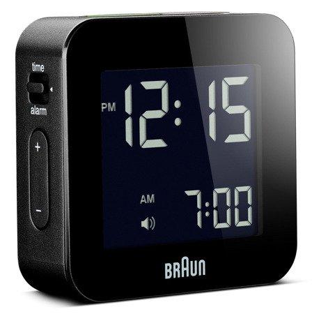Budzik elektroniczny Braun BNC008BK
