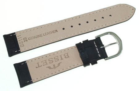 Skórzany pasek do zegarka Bisset 20 mm BS-111.20.18.01