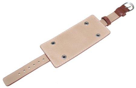 Skórzany pasek z podkładką do zegarka 13 mm J12.002.05