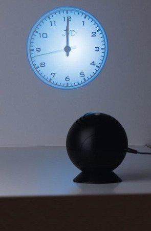 Zegar JVD SB108 Projektor, średnica nawet 2 metry