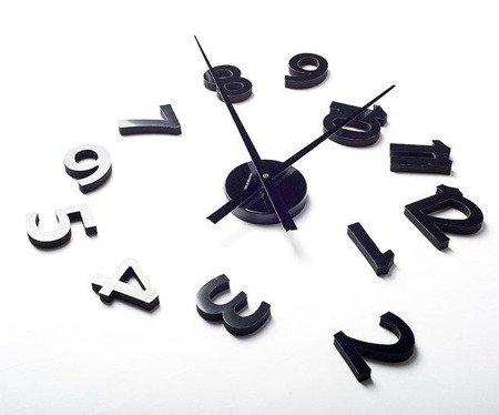 Zegar ścienny ExitoDesign HS-140BB naklejany na ścianę, szybę...