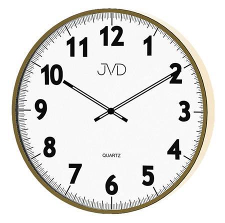 Zegar ścienny JVD H13.3 38 cm Metalowy