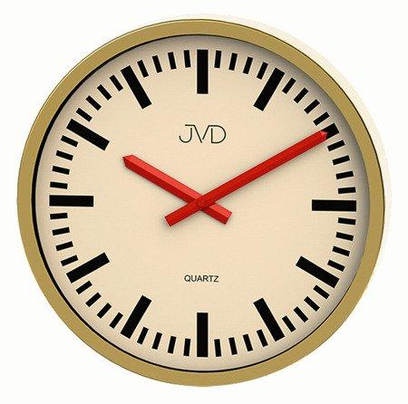 Zegar ścienny JVD H306.3 Czytelny 30 cm Aluminium