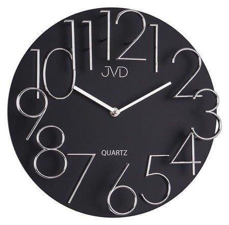 Zegar ścienny JVD HB09 Drewniany 3D