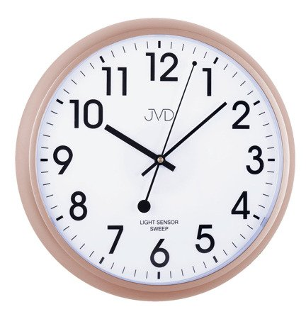 Zegar ścienny JVD HP698.5 Sensor Light, Sweep 36 cm