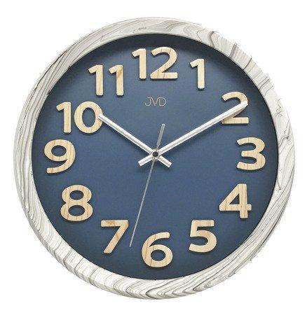 Zegar ścienny JVD HT073.5 31 cm Wypukłe cyfry