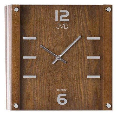 Zegar ścienny JVD N1176.11 Szklano-drewniany