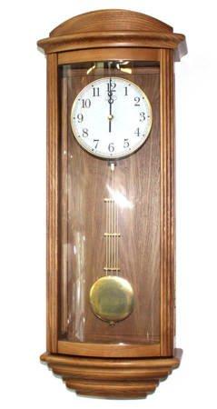 Zegar ścienny JVD N2220.11 Drewniany Kuranty