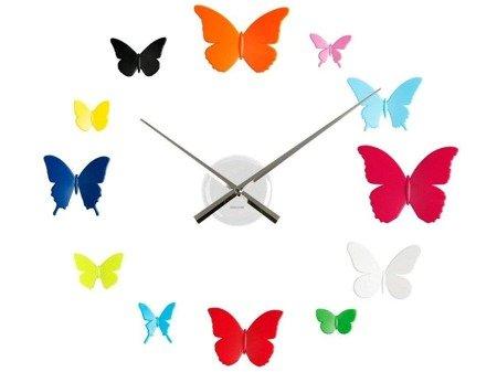 Zegar ścienny Karlsson KA5357MC naklejany na ścianę, szybę...