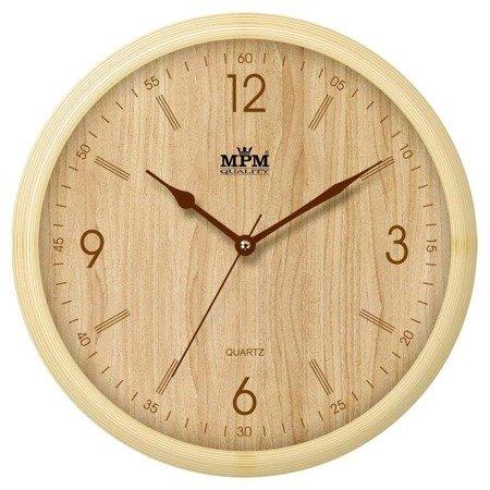Zegar ścienny MPM E01.2973.51.YB fi 25 cm