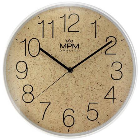 Zegar ścienny MPM E01.4046.0051 korek