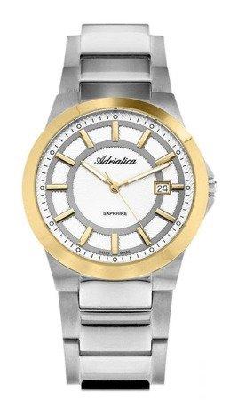 Zegarek Adriatica A1175.6113Q Tytanowy Szafirowe szkło