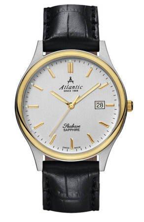 Zegarek Atlantic Seabase 60342.43.21 Szafirowe szkło